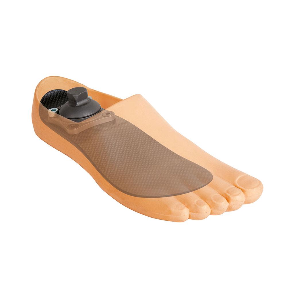 Модель 873 - углепластиковый протез мужской стопы на длинную культю
