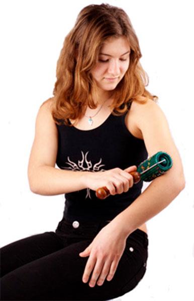Валик-аппликатор для массажа рук