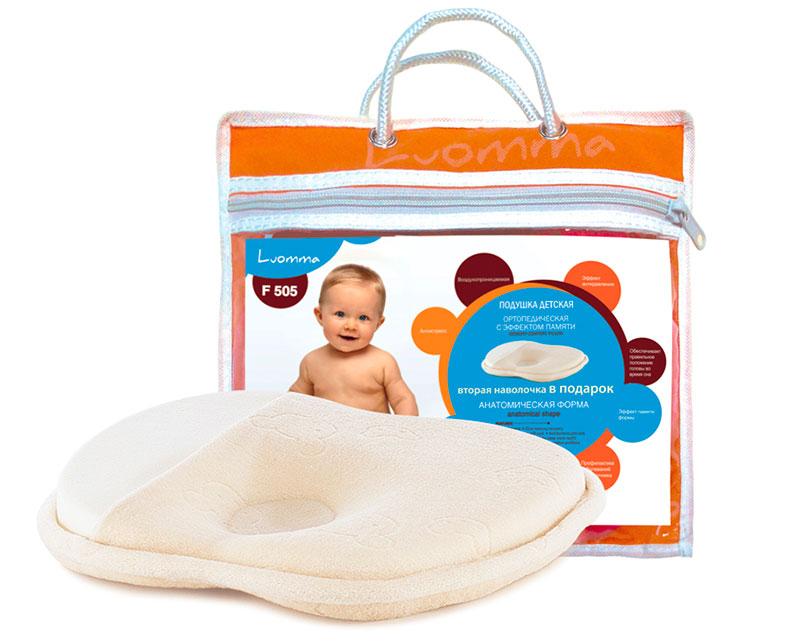 LumF-505 - детская ортопедическая подушка с эффектом памяти