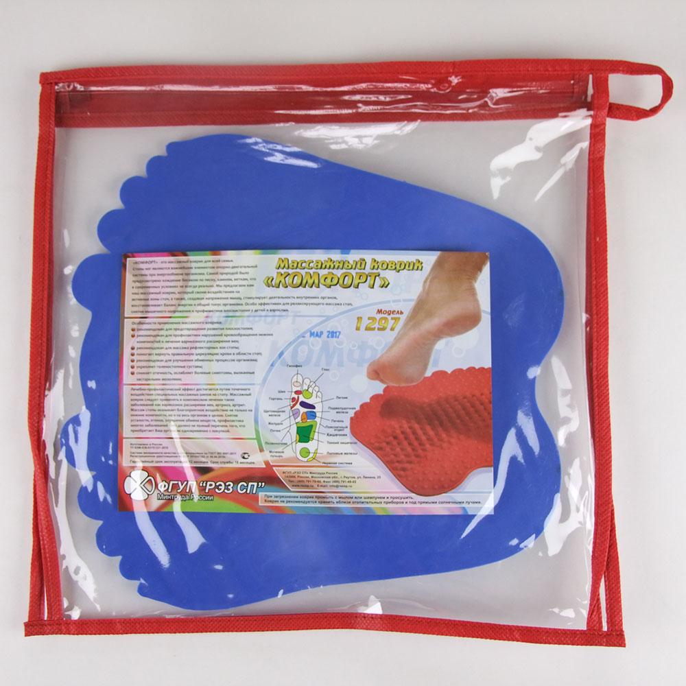 Массажный коврик в упаковке