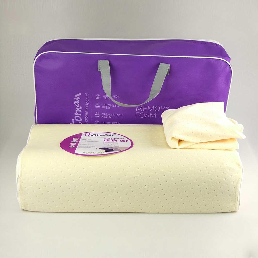 Ttoman СО-04-N02  - подушка для сна ортопедическая рифлёная