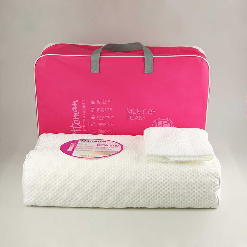 Ttoman СО-04-212А  - подушка для сна ортопедическая рифлёная