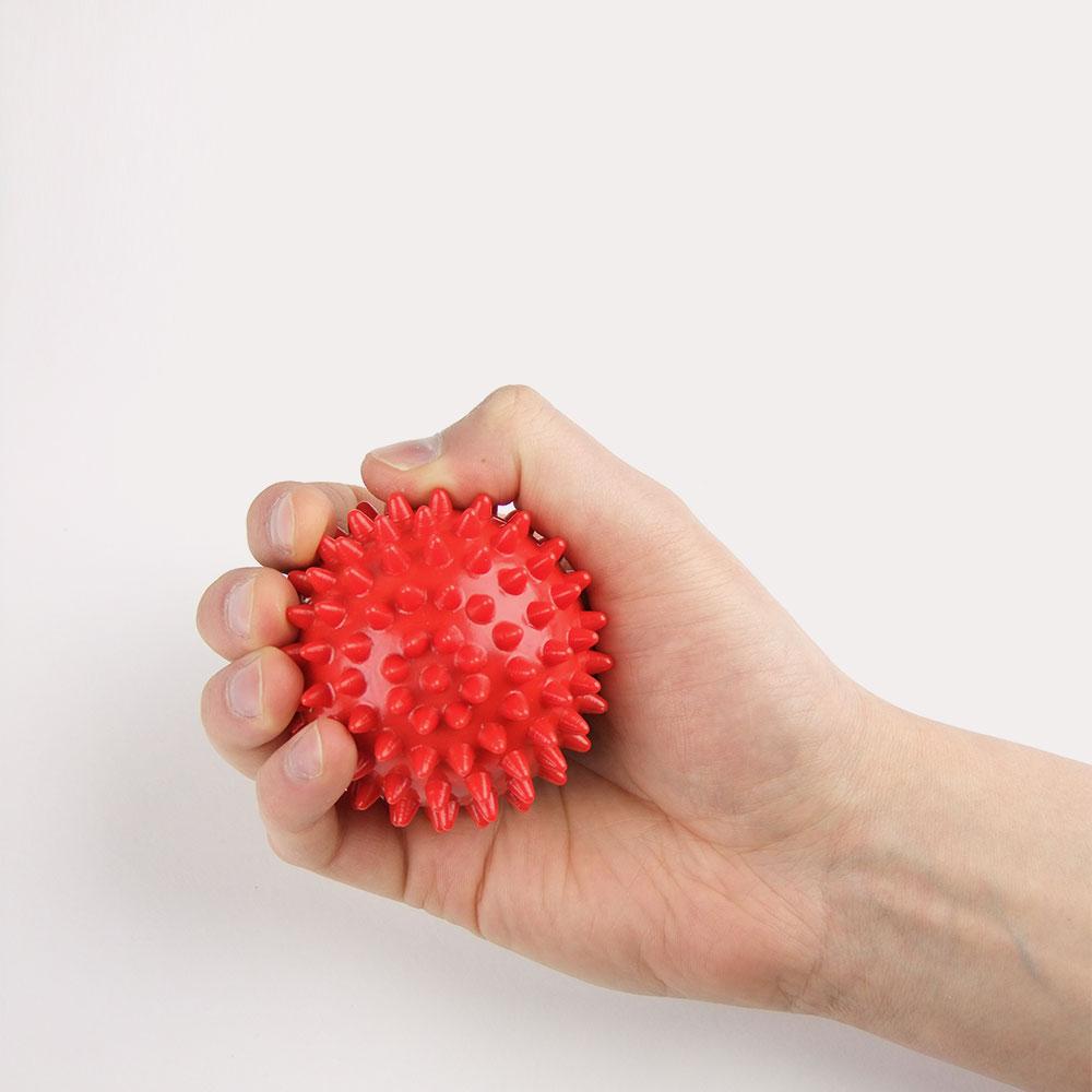 Сжимаем в руке шар