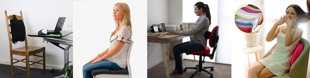 Ортопедические подушки для сидения