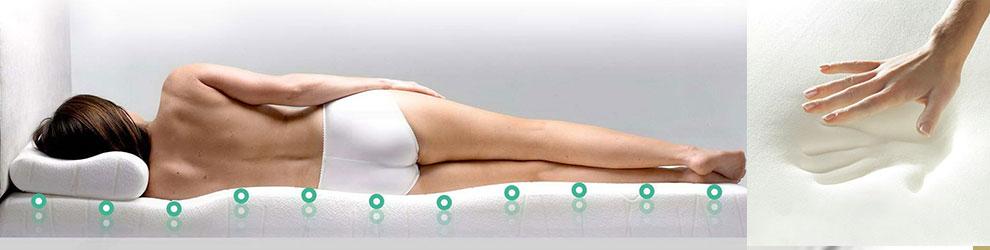 Подушки и матрасы ортопедические