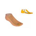 Модель 546 - женский протез стопы типа SACH